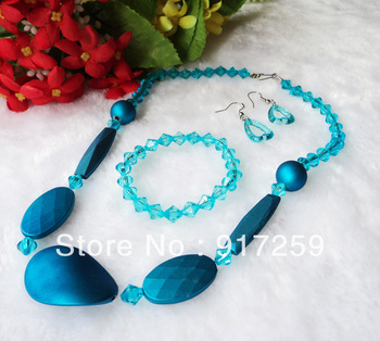 2013 Fashion Color Necklaces Lovely Kids Jewelry Sets Free shipping