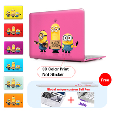 2015 Minions Despicable Me Laptop Sleeve Protective Cover For Notebook Apple Laptop Macbook Air Case For Mac Case 11.6 13.3 inch