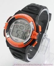 wholesale Hot sale 2015 New Light Unisex Digital LED Screen Sports Silicone Bracelet Wrist Watch women