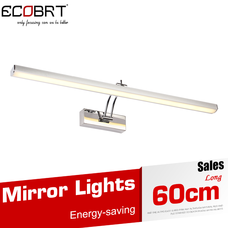60CM Aluminum LED Picture Lights Indoor Modern 10W Bathroom Mirror Wall Lights for Home Decoration Wall Mounted AC 110 / 220V(China (Mainland))