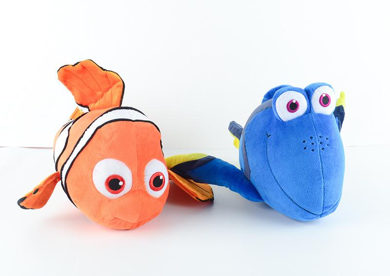 2016 Movie Finding Dory Plush Fish Clownfish Nemo Stuffed Plush Animals Toys Stuffed Animals Plush Doll