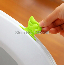 ( 5pcs/lot) 2015 Hot Mention toilet lid device toilet handle flip the handle(China (Mainland))