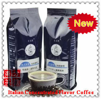 250g High quality Italian Espresso Coffee beans Fresh Baking Organic Cooked Coffee Bean 100 Pure Bean
