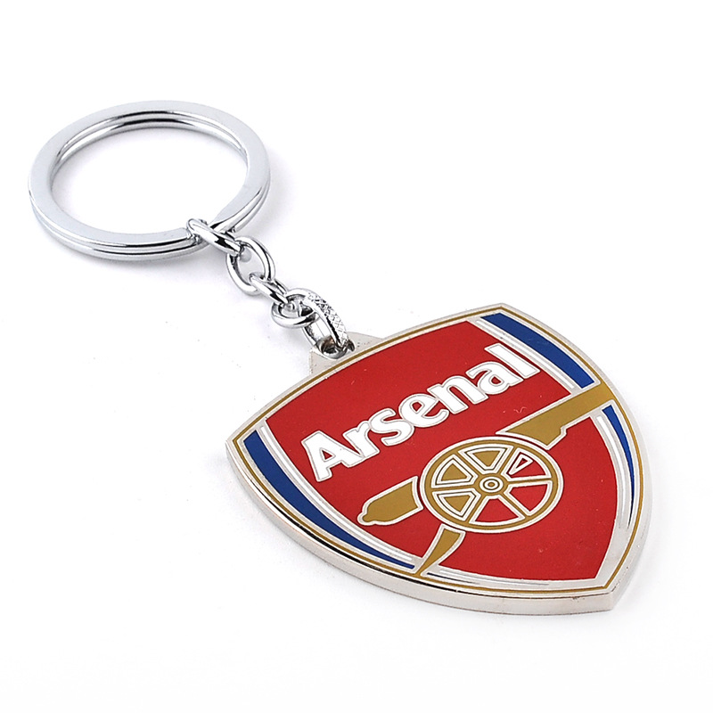 2016 New Arrival Arsenal KeyChain Football Team Logo Alloy Keychain As A Gift To Friend for Arsenal Funs(China (Mainland))