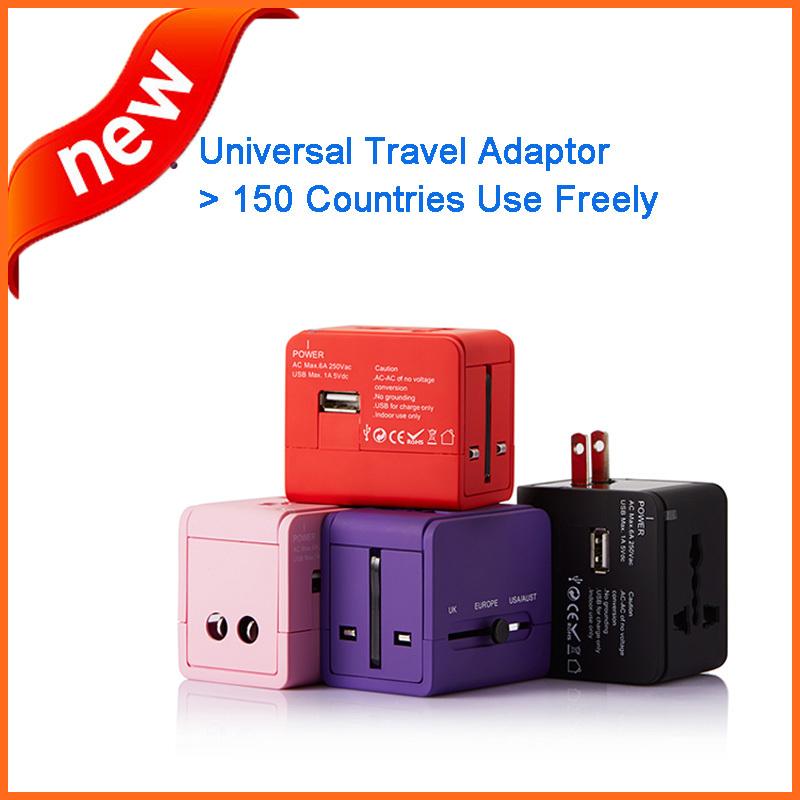 International Travel Universal Adapter USA AU UK EU Plug Power Charge Usb - No.1 Exported Home World store