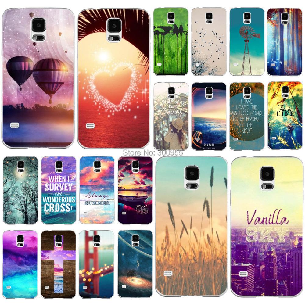 Гаджет  Free Shipping Back Case Skin For Samsung Galaxy S5 Nice View Paint Printed Phone Plastic Case WHD1198 21-40 None Телефоны и Телекоммуникации