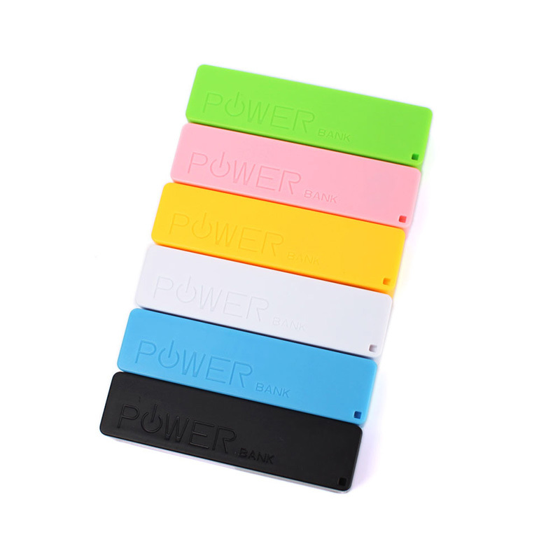 2Pcs Portable Mobile Power Bank USB 1x 18650 Battery Charger Box Case for Phone MP3 #69257(China (Mainland))