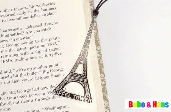 New Creative memory of tower designs Metal Bookmark / Book marks / Wholesale(China (Mainland))