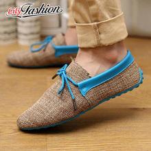 2016 Fashion High Quality men Shoes Causal Fashion Flats Men Shoes Flats Breathable Light Soft Men Flats BS0010