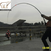 Top sea telescopic fishing rod china fit for shimano reel 2.1~3.6m boat rock spinning pole feeder rods pescaria carp rod F64