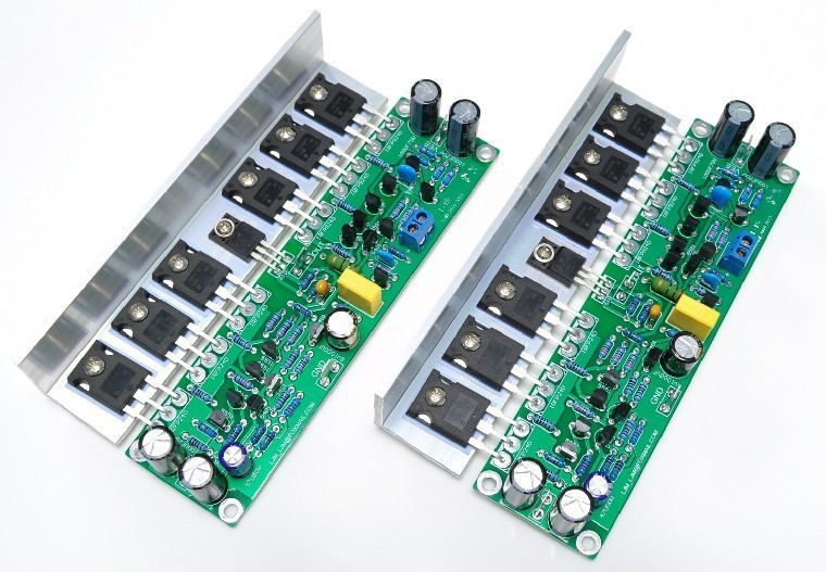L15 Assembled FET Power Amplifier Board IRFP240 IRFP9240 2 Channel DIY LJM(China (Mainland))
