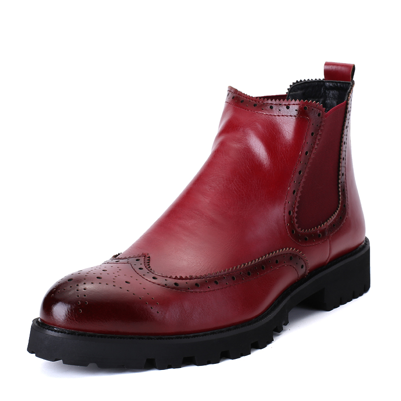 Popular Leather Ankle Boots Men-Buy Cheap Leather Ankle Boots Men ...