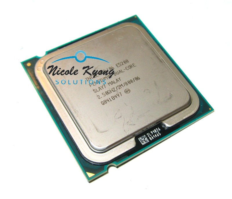 Dual core Pentium desktop Processor E5200 SLB9T SLAY7 (2M Cache, 2.50 GHz, 800 MHz FSB) LGA775 CPU(China (Mainland))