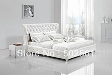 wholesale genuine leather bed