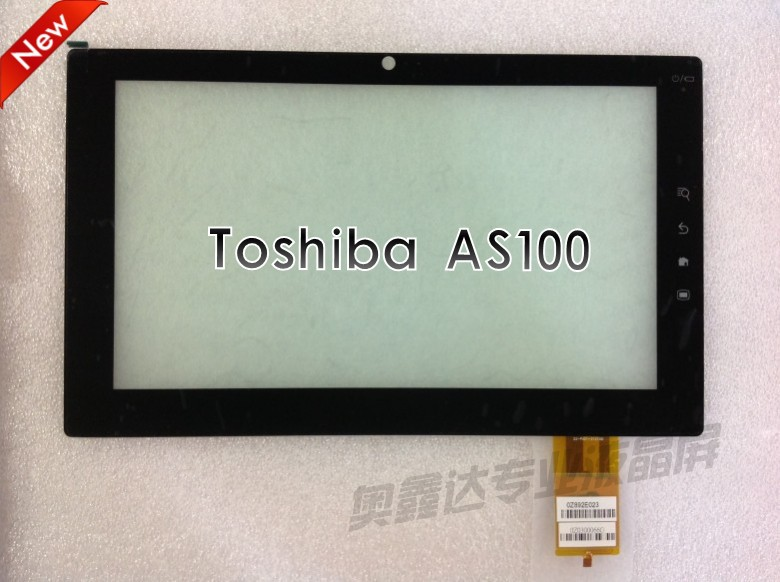 glass digitizer For Toshiba AS100 0Z892E023 10.1 Tablet PC front panel capacitive touch screen glass lens screen digitizer<br><br>Aliexpress