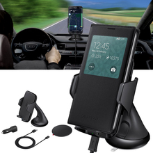 Buy Qi Wireless Charger Charging Car Windshield Mount Holder Stand Smart Phone for $17.46 in AliExpress store