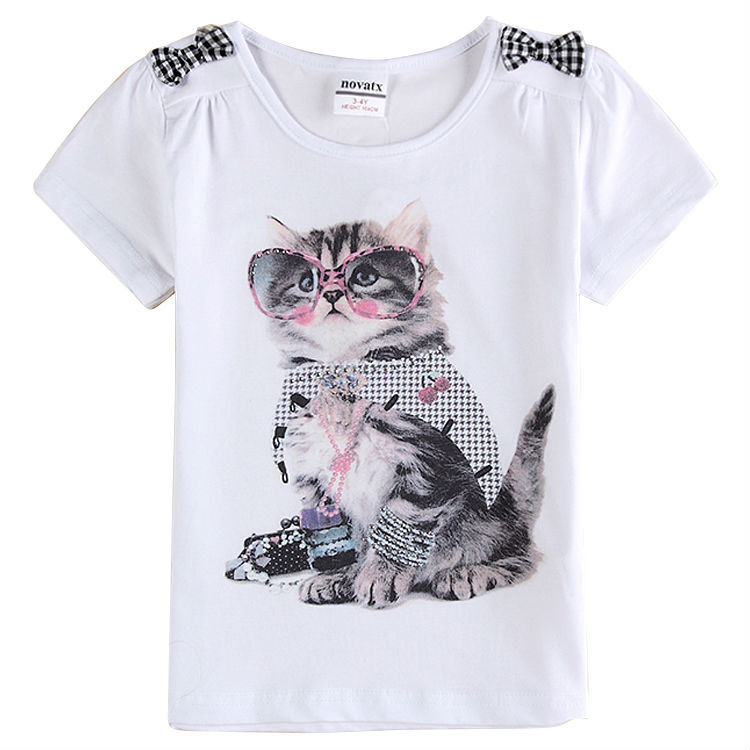 Baby girls t shirts kids clothes nova brand children t shirts for girls t shirts girl top for summer style 2015<br><br>Aliexpress