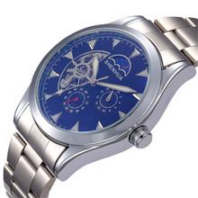 Reloj para hombre mecánico automático reloj seis puntos de sutura tourbillon JST005 correa de acero – JST006 cinturón