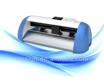Vicsign red dot contour cutting laser mini cutter plotter  with optical eye (Model HW330)