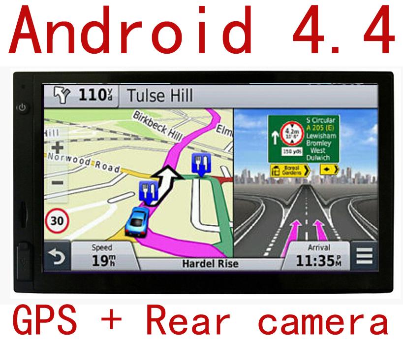 "HD 7"" GPS Android Car Navigation System WIFI w/ Back Camera(China (Mainland))"