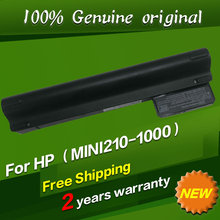 Free shipping WG328PA Original laptop Battery For Hp Mini 210 210-1000 2102 210T-1100 210-1175SA