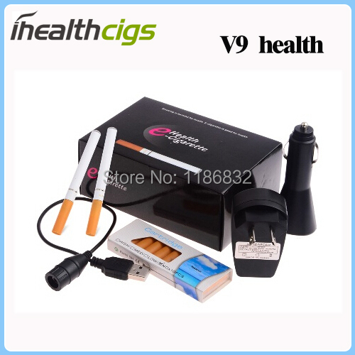 Double-cigar V9 Health Quit Smoking Electronic Cigarette Rechargeable Mini Electronic Cigarette ihealthcigs 100pcs/lot<br><br>Aliexpress
