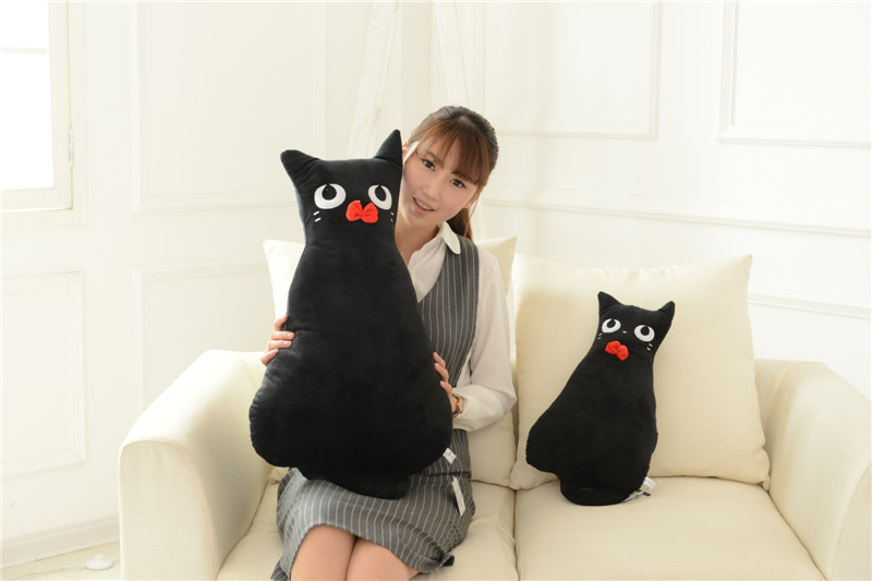 Japan creative alice back big cat plush toy cat pillow sofa cushion car decoration cat stuffed