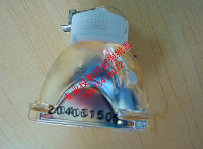 Фотография 100% NEW ORIGINAL PROJECTOR LAMP BULB FOR HITACHI HCP-A6X / HCP-980X / HCP-WX410/ HCP-A10  180Days Warranty