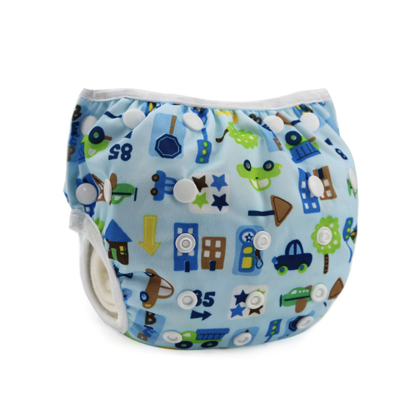 Baby Reusable Swimwear Diapers Adjustable Babies Swimsuit Infants Girls Boys Bathing Suits Leakproof Swimming Trunks Kids Diaper - Amazing Kids' Shopping Mall store