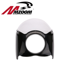 FREE SHIPING New arrived Wide Glide/Custom Mid Motorcycle Headlight Plastic Front Fairing Kit for Harley(China (Mainland))