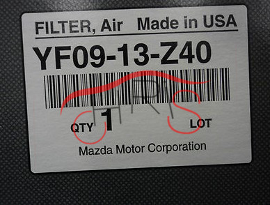 OEM HA 1821 NEW AIR FILTER Engine Filter Fit for MAZDA TRIBUTE 2001 2011 Freeshipping