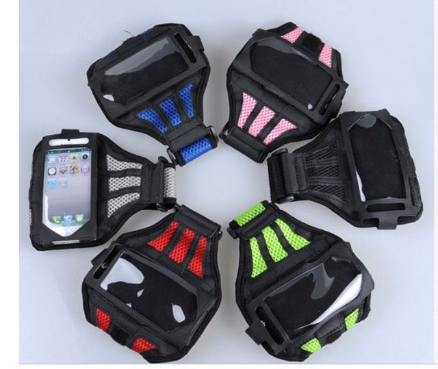 for apple iphone 5 set / 4 S mobile phone sport armband ipod classic arms package(China (Mainland))