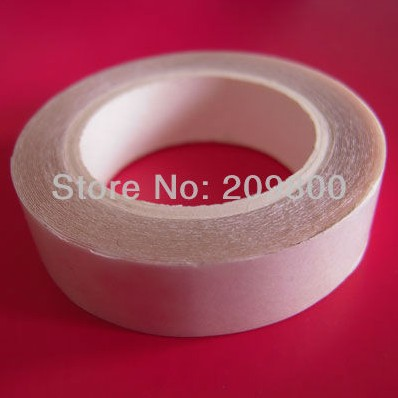 New! 1cm x3m White Double sided tape for hair extensions sticky free shipping<br><br>Aliexpress