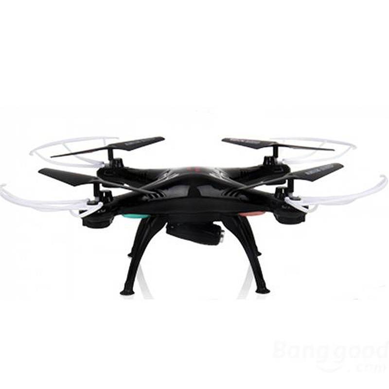 Фотография Syma X5SW RC Quadcopter 4CH 2.4G 6-Axis Gyro Support Wifi Control FPV HD 2.0MP Camera 360-degree 3D Rolling Mode 2 RTF