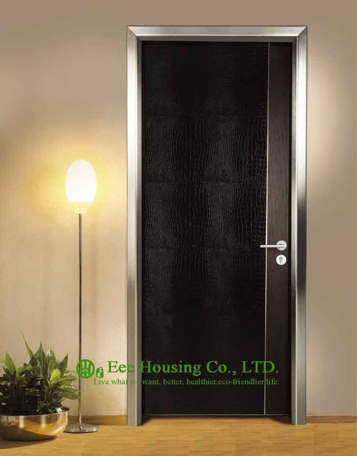 aluminum modern door for restaurant use customized