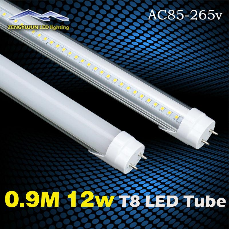 Здесь продается  High- Brightness 3FT  LED Tube Light 120pcs LED Lamp beads 0.9m 12w 15w 3FT T8 900MM G13 Base Type  Свет и освещение