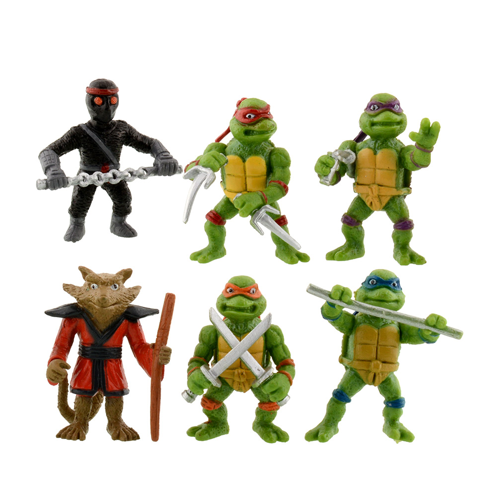 2016 New 6Pcs Teenage Mutant Ninja Turtles TMNT Action Figures Toy Toys Classic Collection high quality(China (Mainland))