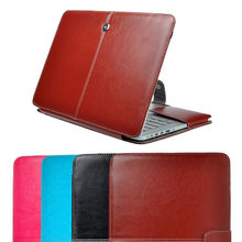 "1Pc Vintage PU Leather Skin Sleeve Laptop Case Cover For Apple Macbook Air Pro Retina 11"" 13"" 15"" Free Shipping(China (Mainland))"