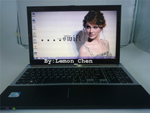 Free Shipment!15 inch gaming laptop notebook computer Wtih DVD 4GB DDR3 500B HDD J1900 Quad Core 2.0 GHz WIFI webcam HDMI(China (Mainland))