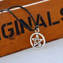 Fine Jewelry 1PC Black Pentagram Star Charm Pendant Necklace Hot Fashion Jewelry 70cm