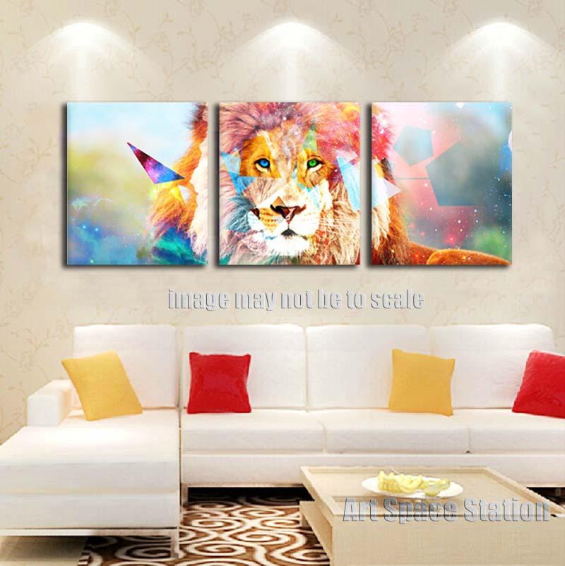 Aliexpresscom Buy Modern Home Decor Wild African Lion