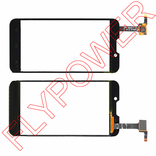 Digitizer Touch Screen Glass FOR ZTE V967S front panel by free shipping; 100% warranty