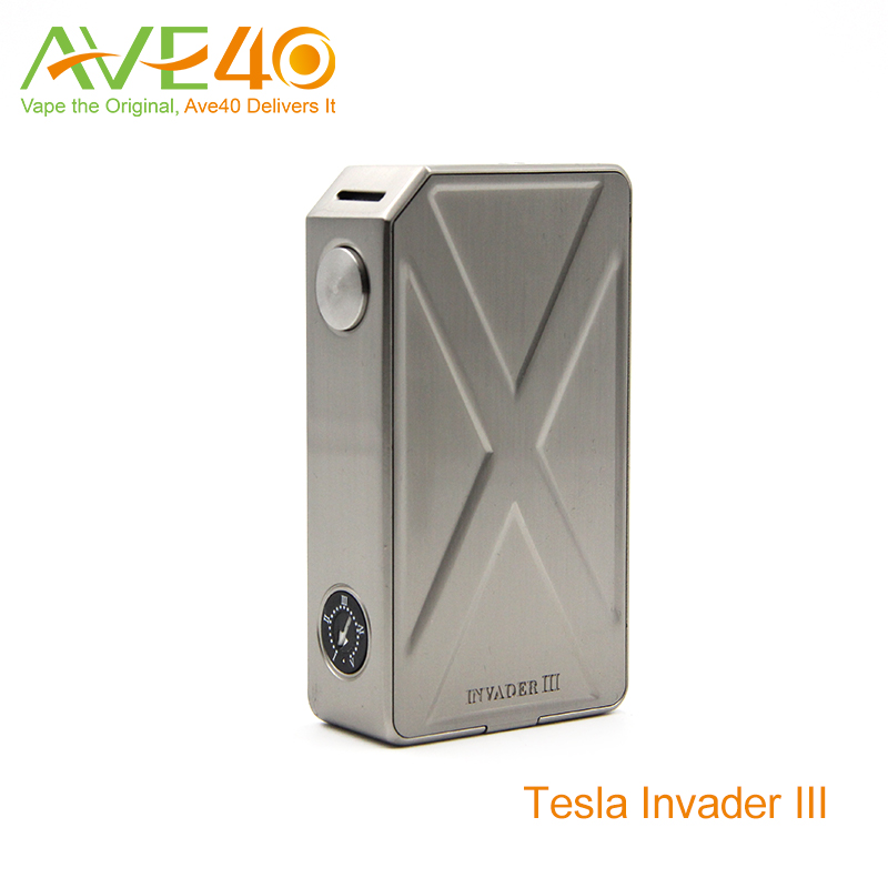 Tesla Invader III 240W Box Mod Magnetic Battery Cover Suitable for All Atomizers VS iJust 2 Atomizer(China (Mainland))