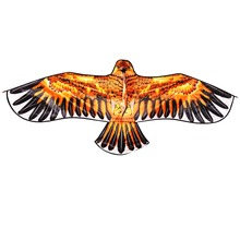 High Quality Outdoor Sports 1.5m Eagle Kite With Handle and 100m Line Easy Control Flying 100% Original Factory(China (Mainland))