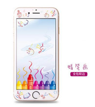For IPhone6/6s/6plus/6s plus Tempered Glass Film UltraThin Real Screen Protector Full Screen With Retail Package