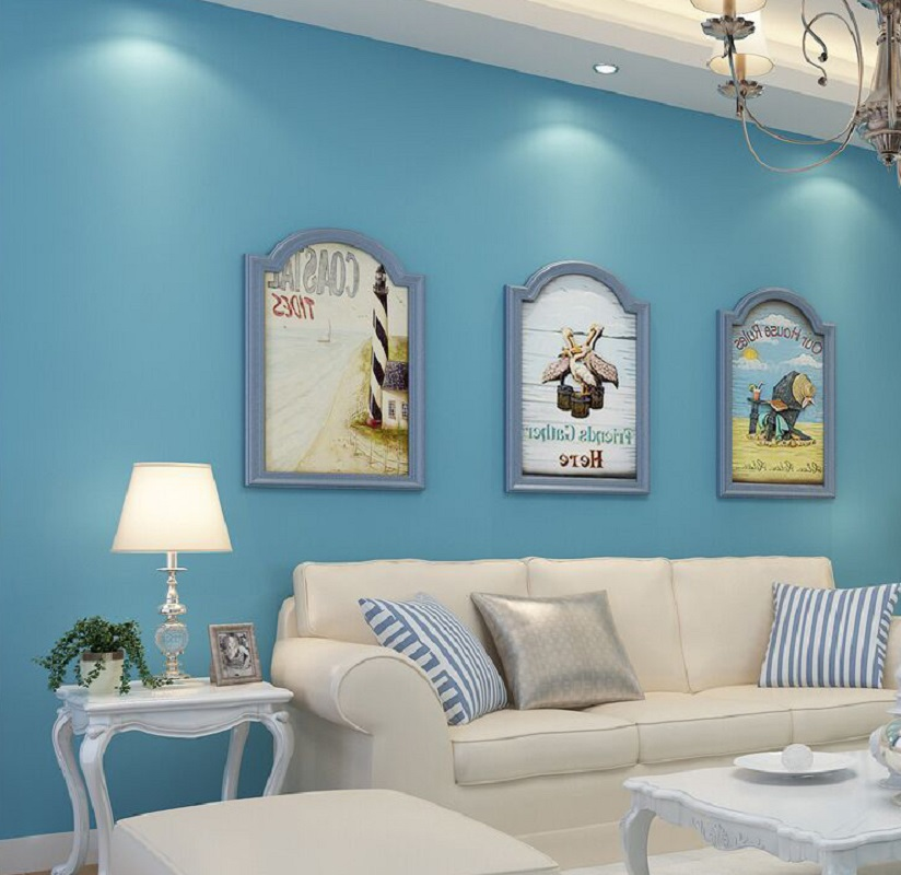 Light blue wallpaper bedroom light blue bedroom colors Blue wallpaper for living room