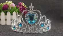 2015 retail new headband for 3 8Y kids anna elsa princess crown party accessories