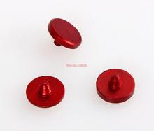 3pcs Red Flat convex concave Release Shutter Button for Leica Fujifilm X100 x100s x10 x20 X-Pro1 m6 m8 m9 x-e1 x-e2 Camera
