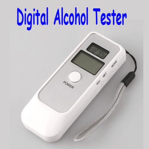 Digital Alcohol Breath Tester Analyzer Breathalyzer LCD ,Freeshipping wholesales(China (Mainland))