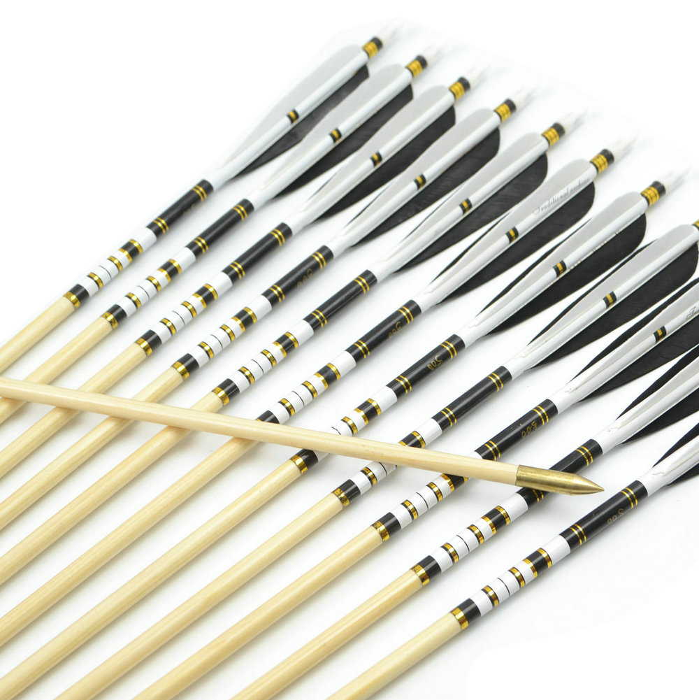 12pcs 31 Inch 78 5cm Spine 450 500 550 600 650 700 750 Copper Point Archery